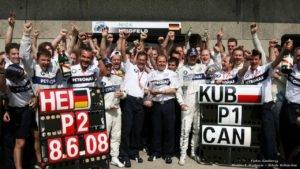 Robert Kubica win GP Canadian 2008