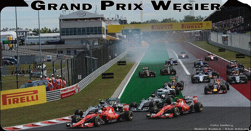 Grand Prix Węgier i testy Robert Kubica