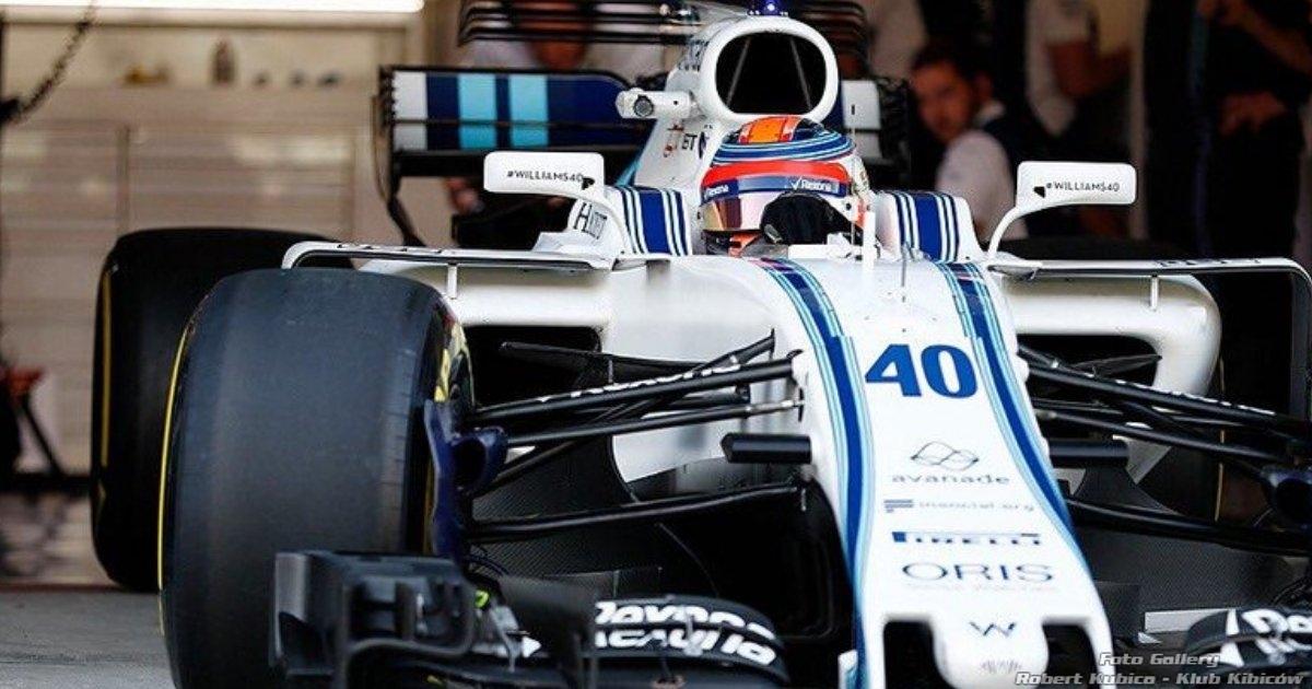 Kubica test Pirelli Silverstone relacja live