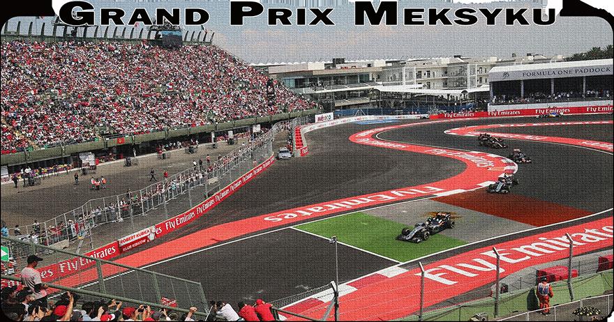 Formula 1 - Grand Prix Meksyku 2018