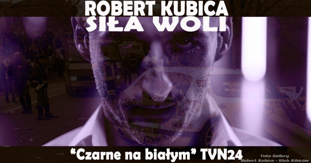 """Robert Kubica - Siła woli. Reportaż """"Czarno na białym"""" w TVN24"""