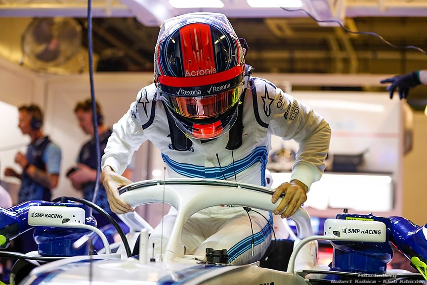 Robert Kubica i Williams Racing: Testy Pirelli w Abu Dhabi na sezon 2019