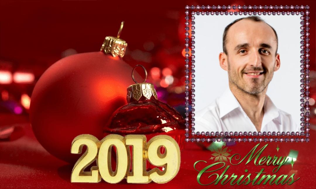 Wesołych Świąt – Merry Christmas 2019 Robert Kubica – Klub Kibiców