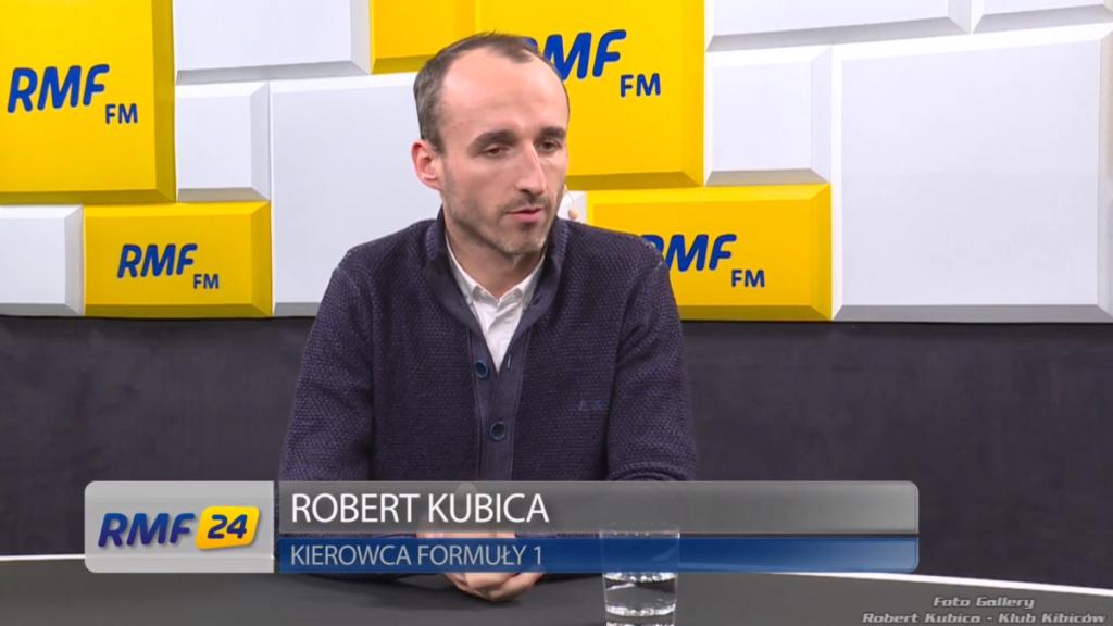 Robert Kubica: Popołudniowa rozmowa w RMF FM