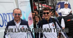 Bottas Kubica i Russel poprowadzą Williamsa na miejsce, na które zasługuje