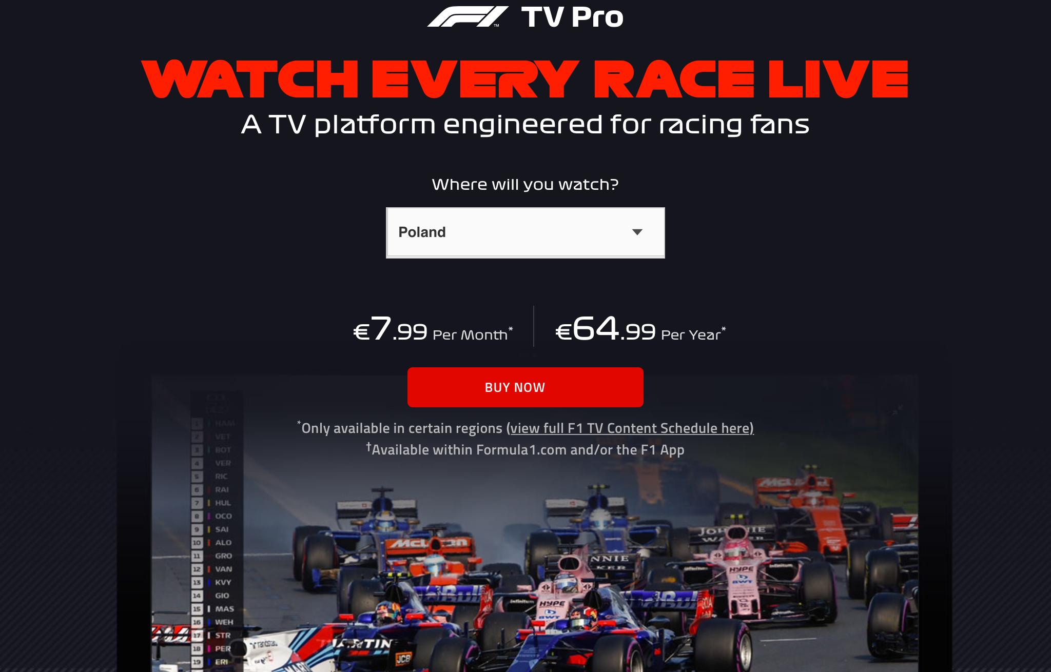 Relacje Live z przedsezonowych testów F1 w Barcelonie