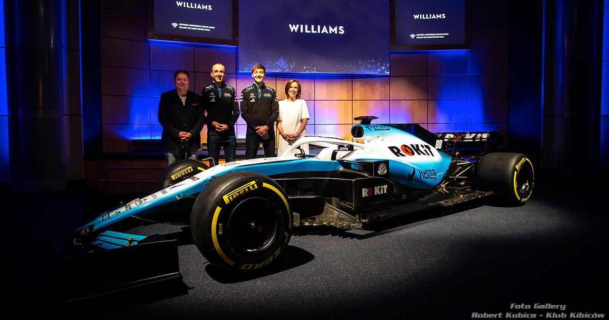 Prezentacja ROKiT Williams Racing na sezon 2019