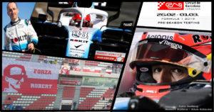 Robert Kubica - Przedsezonowe testy F1 w Barcelonie 2019 : Druga tura dzień 2