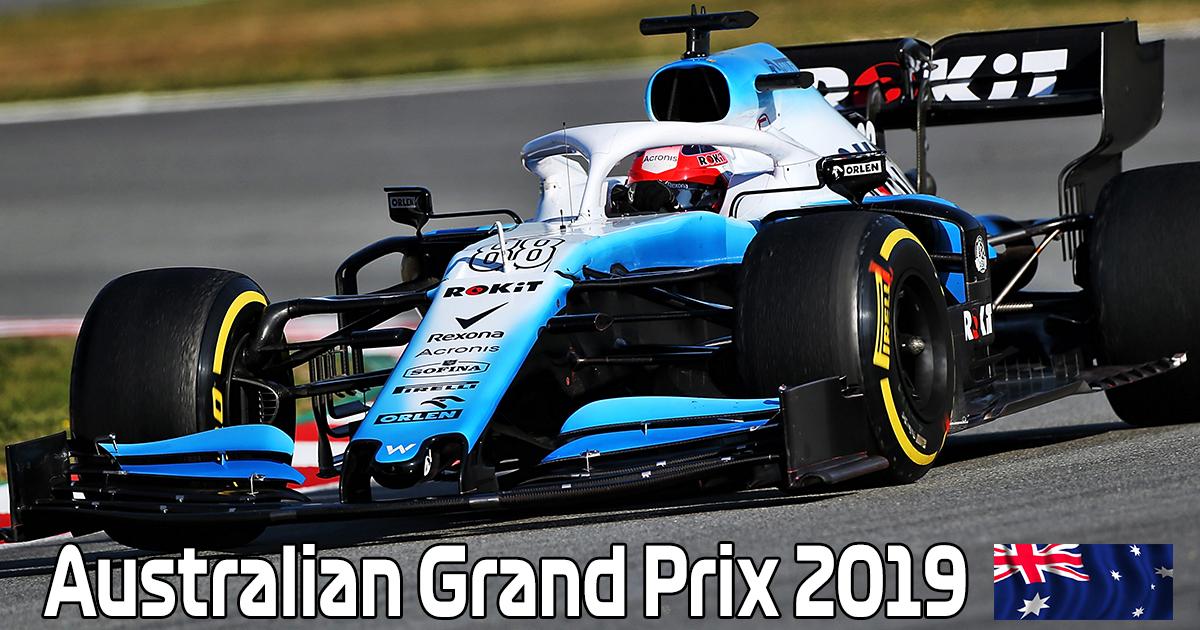 Robert Kubica - Australian Grand Prix 2019