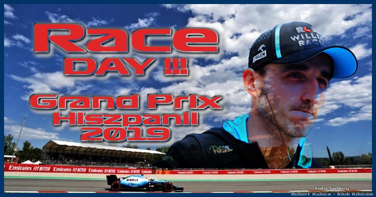 Robert Kubica - Grand Prix Hiszpanii 2019 - Dzień 4 - Wyścig