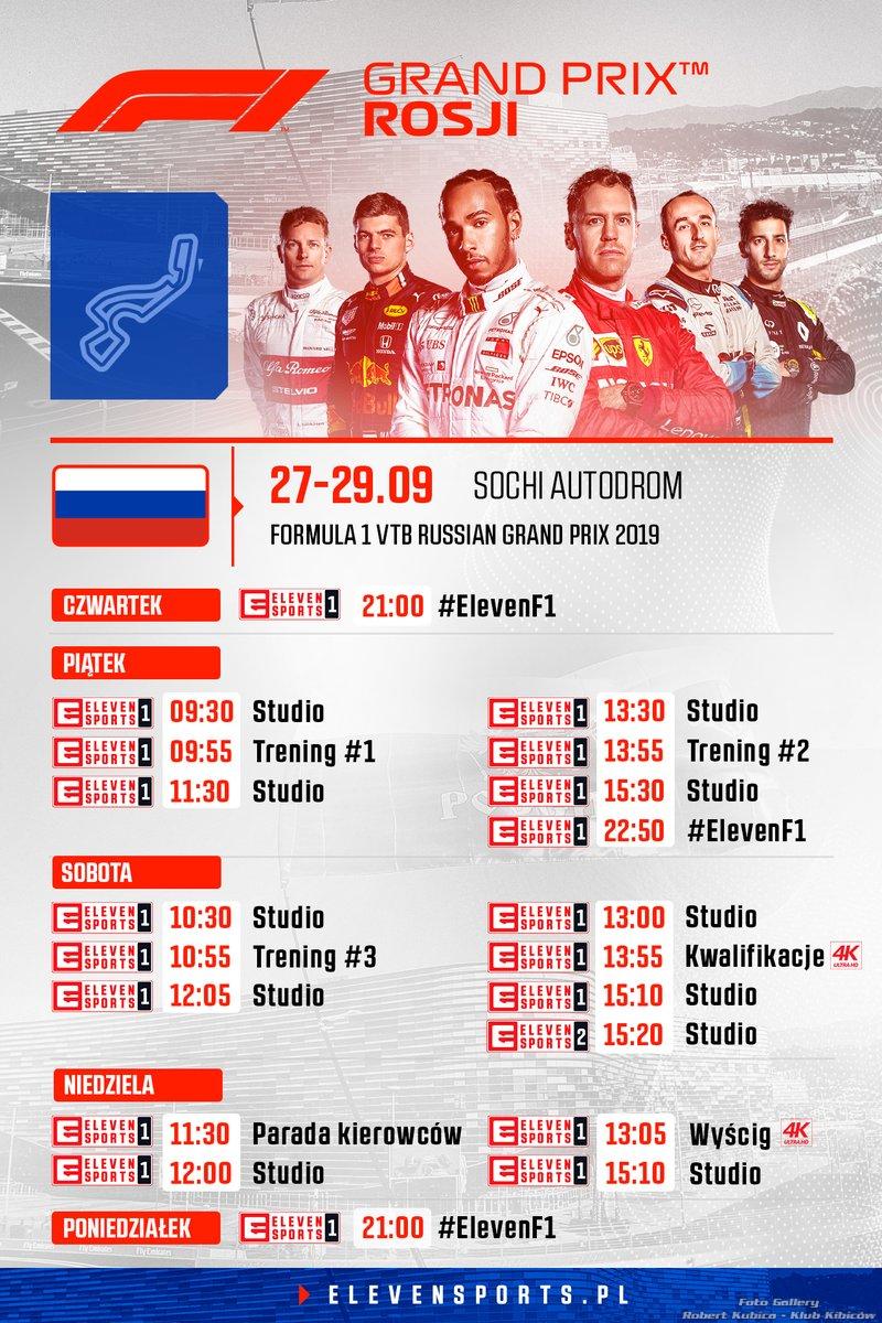 Grand Prix Rosji 2019 - Dzień 3 - Trzeci trening i kwalifikacje