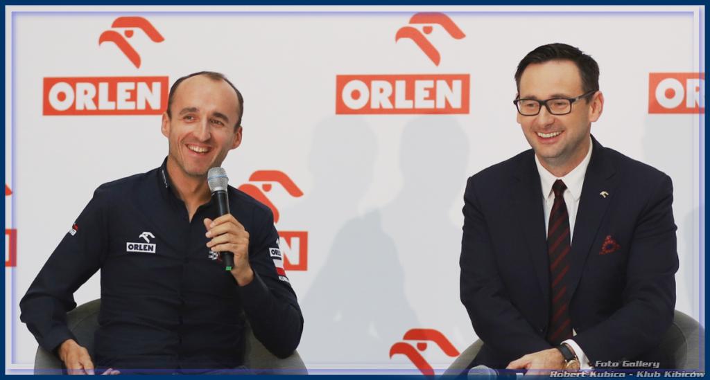 Kubica i Orlen w DTM - Konferencja w Warszawie