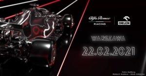 Prezentacja Alfa Romeo Racing Orlen w Warszawie